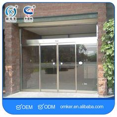 Long Service Life Bottom Price Sensor Operated Automatic Sliding Door