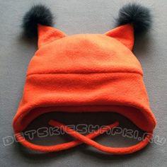 """Фото Детская шапочка """"Белочка"""" из качественного флиса (подкладка - х/б трикотаж). Помпоны из натурального меха. Для детей в возрасте 2-8 лет. Также в комплект к шапочке можно заказать манишку, шарфик или рукавички того-же цвета. Spring Hats, Fall Hats, Winter Hats, Baby F, Baby Kids, Animal Hats, Sewing Techniques, Baby Sewing, Kids Wear"""
