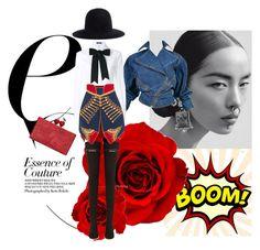"""Sin título #677"" by angstylist on Polyvore featuring moda, Vetements, Alaïa, Dolce&Gabbana, Burberry, Yohji Yamamoto y Edie Parker"