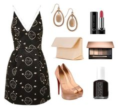 """outfit 9"" by vicinogiovanna ❤ liked on Polyvore featuring Christian Louboutin, Iala Díez, INC International Concepts, Marc Jacobs, Essie, dresses, summerstyle and Louboutin"