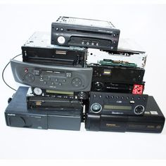 Car Stereos Job lot Cd player CD changers radios spares or repair untested x11