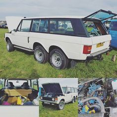 We are busy interviewing owners so, here's a taster - #carmichaelcommando #6x6landrover #rangerover #landroverphotoalbum #takenwithnote4 #adventureoverlandshow #landroverphotoalbum @landrover