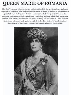 Queen Marie of Romania was a Bahá'í - http://bahaiteachings.org/the-bahai-queen