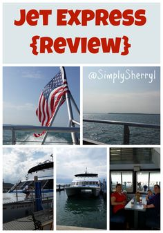 Jet Express {Review} - Hi-speed ferry that travels between several ports on Lake Erie, including Sandusky, Put-in-Bay and more!