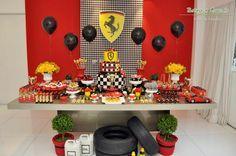 Olha que lindas ideias para meninos!!Festa Ferrari, hoje no blog!!!Imagens do Facebook Rachel Gomes.Lindas ideias e muita inspiração.Bjs, Fabíola Teles.Mais ideias lindas:Rachel Gomes....