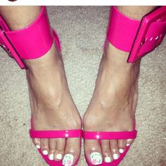 Pink Gucci Sandals Sale  7/6 Pink Limited Edition ! Authentic Gucci Flat sandals with Buckle .. Wore only Once .. Comes with Box & Dust Bag . Make a Offer . No trades Gucci Shoes Sandals