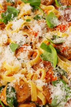This quick and easy linguine recipe will become a new weeknight favorite. Get the recipe from Delish.