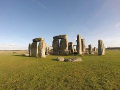 Minha visita em Stonehenge