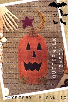 Buttermilk Basin mystery block- October