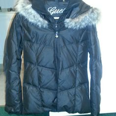 NEW guess jacket NWOT. super warm.double jacket look Guess Jackets & Coats