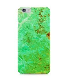 Attractive Green Abstract Picture 3D Iphone Case for Iphone 3G/4/4g/4s/5/5s/6/6s/6s Plus - ARTXTR0150 - FavCases