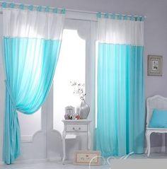 $87.27 blue & white curtains for home decor from zzkko.com