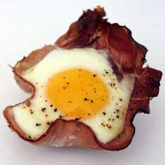 A Reader Recipe: Baked Eggs in Ham Cups