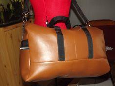 Le sac de voyage Boston cousu par Isabelle B. - Patron de couture Sacôtin