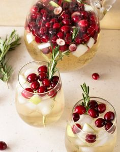Christmas Sangria: One of our favorite holiday sippers this season. Get the recipe now.