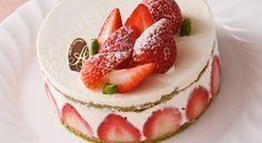 フレジェ(いちごのケーキ)レシピ - ボブとアンジー