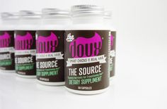 THE SOURCE Essential Hair Supplement fro transitioning & natural hair.  By The DOUX, For Smart Chicks With Real Hair- www.thedoux.com