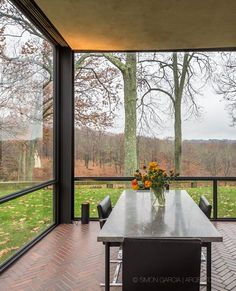 The Glass House, New Canaan, Philip  Johnson