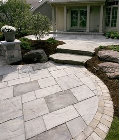Rivenstone Patio By Unilock Colour Combo Ideas For Patio