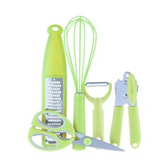 A selection of handy gadgets. Ready for any kitchen task Ergonomic handles for a comfortable and confident grip Quality assurance guarantee