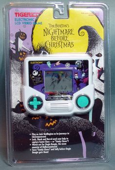 What the heck I owned all the Disney Princesses ones but NOT THIS ONE! 1993 Nightmare Before Christmas Tiger Electronic LCD Game