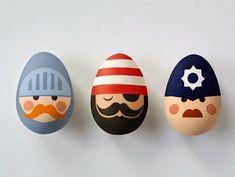 Easter egg decorating roundup Blanco y Negro: HUEVOS DE PASCUA (III)