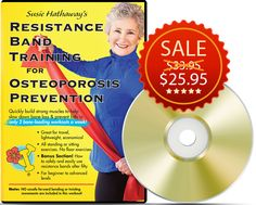 Strengthen your muscles to strengthen your bones in only 2 bone-loading, weight-bearing DVD workouts a week! Available on http://www.amazon.com/gp/product/B00INDQ4VU/ref=as_li_tf_il?ie=UTF8&camp=1789&creative=9325&creativeASIN=B00INDQ4VU&linkCode=as2&tag=wwwstrengthtr-20