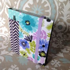 Violet Deluxe Wrap Around Ministry Folder by keepeweclean on Etsy