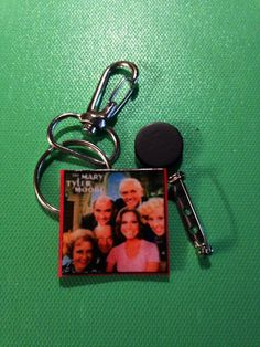 Mini TV Scripts-Keychains Pins & Magnets: The by GidgetsTreasures #gidgetstreasures #minitvscripts #keychains #pins #magnets #themarytylermooreshow #lougrant