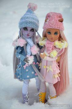 ООАК Monster High - Мои красавицы от Гали Апрельской / Куклы My Scene, Monster High, Монстер Хай от Mattel / Бэйбики. Куклы фото. Одежда для кукол