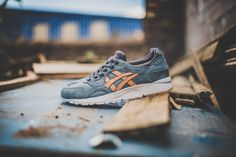 ffaf81537a9 ASICS now offers the Veg-Tan pack in the GEL-Lyte V silhouette and in a new  colorway called  Blue MIrage  Check out the other colorways and get some  Veg-Tan ...