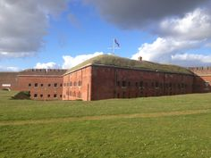 Fort Nelson, Portsdown Hill defending Portsmouth Dockyard, built expensive in the to defend against French Invasion and know as 'Palmeston's Folly'. Portsmouth Dockyard, Isle Of Wight, Historical Pictures, Southampton, Hampshire, Travel Tips, British, Icons, Wedding Ideas