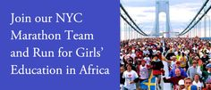 Run for Girls' Education in Africa!  Join the Camfed team in The ING New York City Marathon on Nov. 4, 2012.