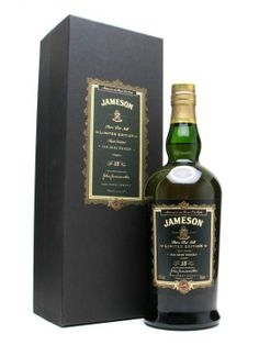 Jameson 15 Year Old - Limited Edition. Found this wee gem tucked away in an off-licence in Portugal. Haven't dared open it yet as it's a collector's item.