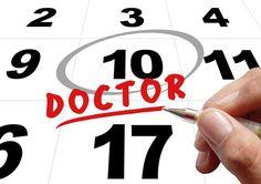 Tiempo, Doctor, Cita Con El Médico, Mano, Deja, Pluma