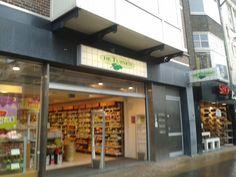 De tuinen. Groen, duurzaam toegankelijk. Logo past bij de producten.
