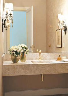 Luminária banheiro