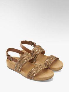 ec04d537cb70 Sandále značky Graceland vo farbe hnedá - deichmann.com