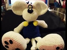 Diddl uncinetto amigurumi Parte VI - Tutorial uncinetto - YouTube
