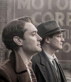 """Jude Law y Colin Firth en """"Genius"""", 2016                                                                                                                                                                                 More"""