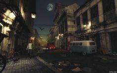 Walking through an old street by gmlabartandsounds