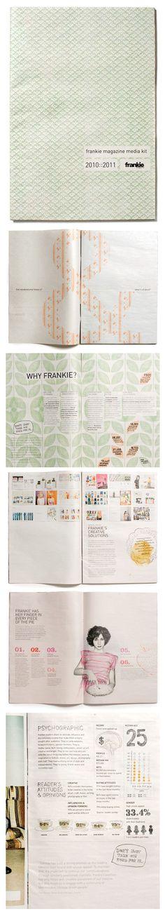 MOVIMENTO SILENCIOSO _ Frankie Media Kit 2010-11 #graficdesign