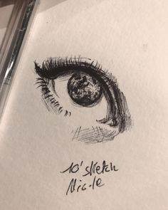 #moon #eye #bic #nikenichiart  Look to the moon 🌑🌘🌗🌔🌕🌖🌓🌒