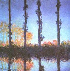 Claude Monet - Les Quatre arbres