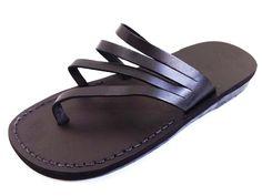 VENTA! Nuevas sandalias de cuero con tirantes. Zapatos para Mujeres y Hombres Chancletas Cintas Pisos Calzado de Diseñador Bíblico de Jesús  de Sandalimshop en Etsy https://www.etsy.com/mx/listing/273713460/venta-nuevas-sandalias-de-cuero-con