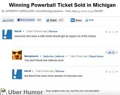 KenM, our favorite troll, takes on the lottery #funny #lolpic.twitter.com/a2ArtGSaHF http://ibeebz.com