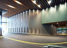 The Hong Kong Insitutes of Architects - List of Architectural Practices Parking Signs, Parking Lot, Car Parking, Cinema Architecture, Architecture Details, Car Park Design, Park Signage, Entrance Design, Signage Design