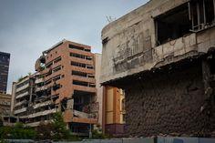 Edifici distrutti a Belgrado