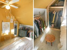 Possible to put a small second dresser in the closet to make up for lack of overhead space?  maybe then move up clothes?