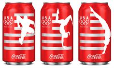 turner duckworth: team USA coca-cola cans